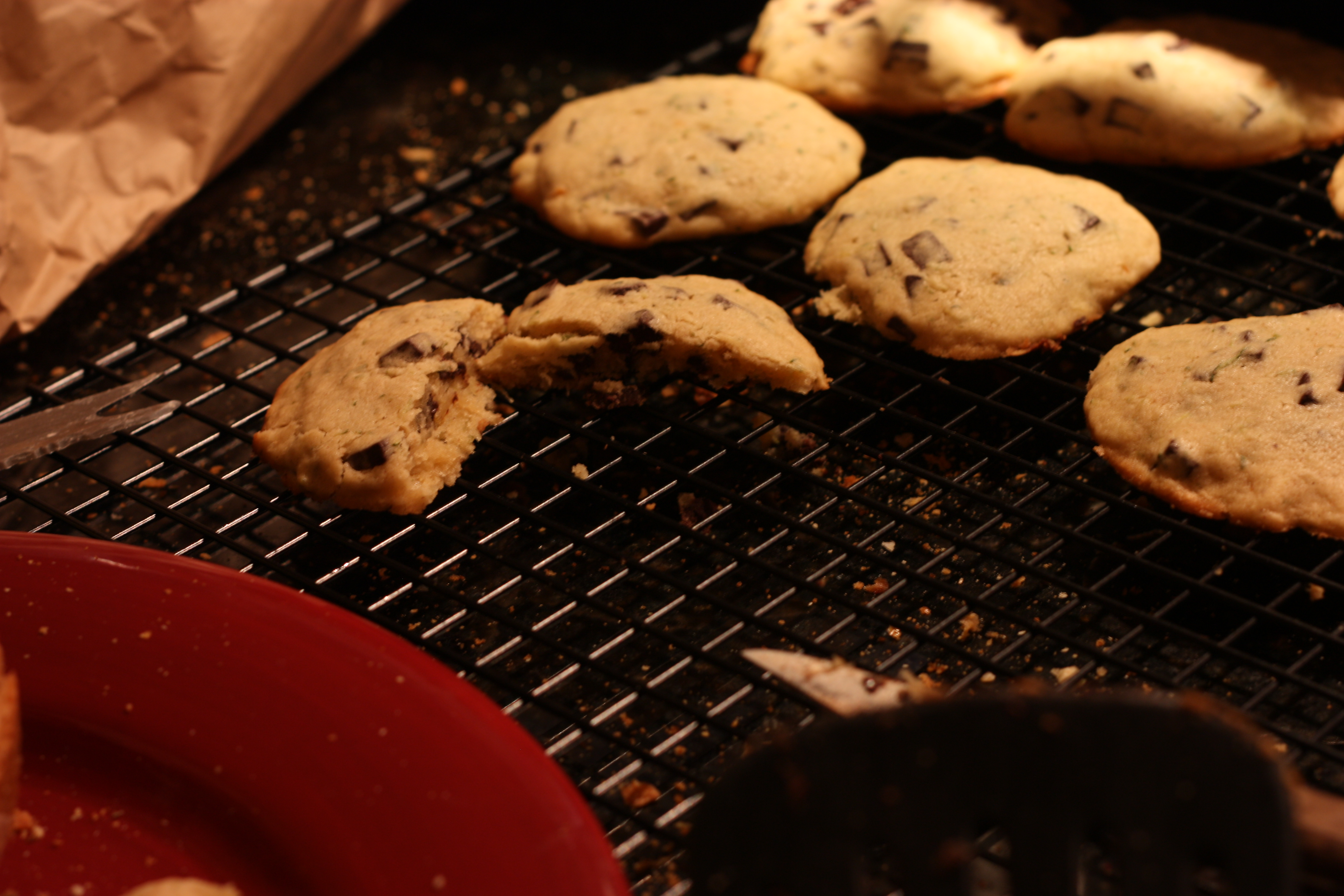 Old fashioned chocolate chip cookie 29