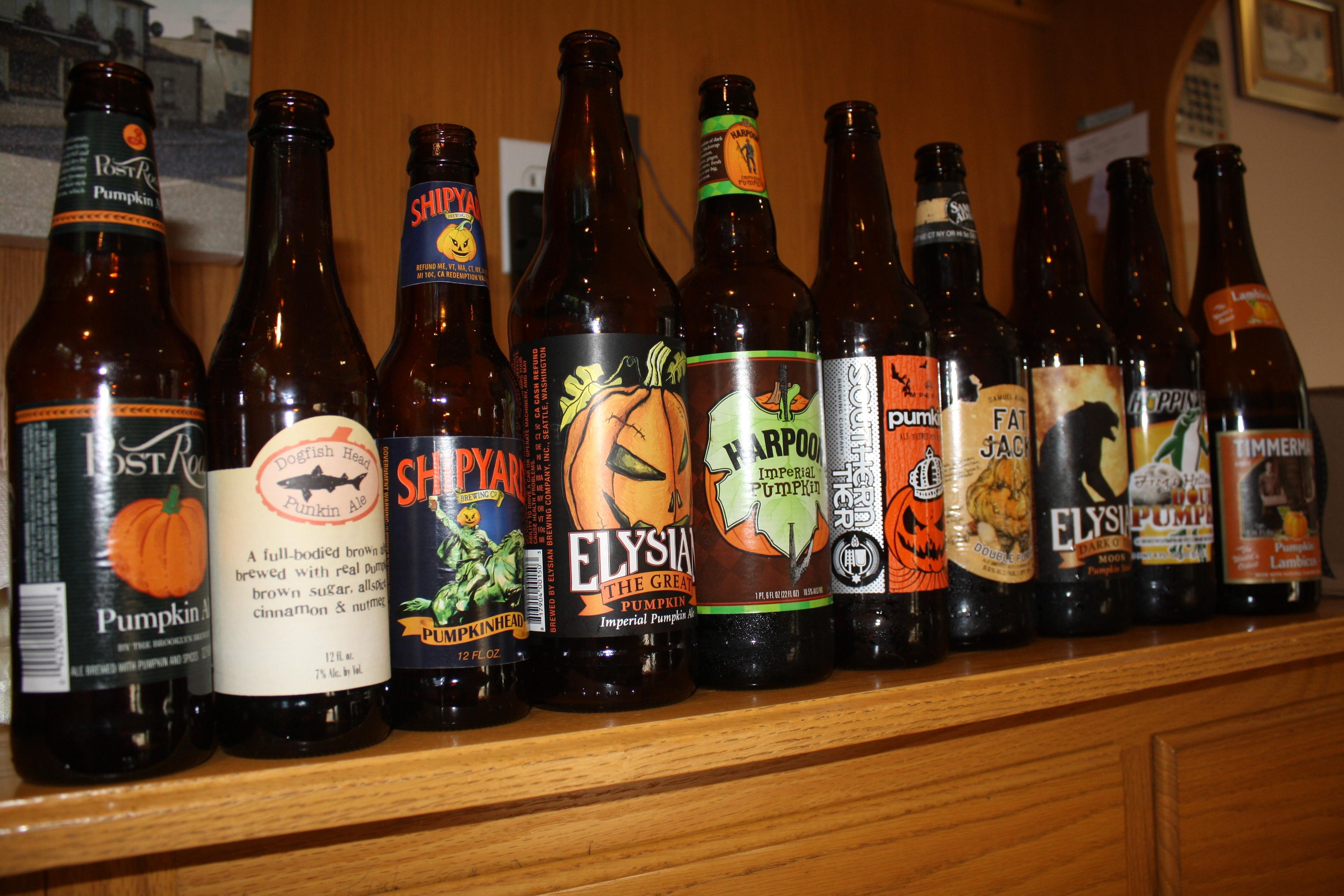 Blind Pumpkin Beer Tasting Obedient Ingredients